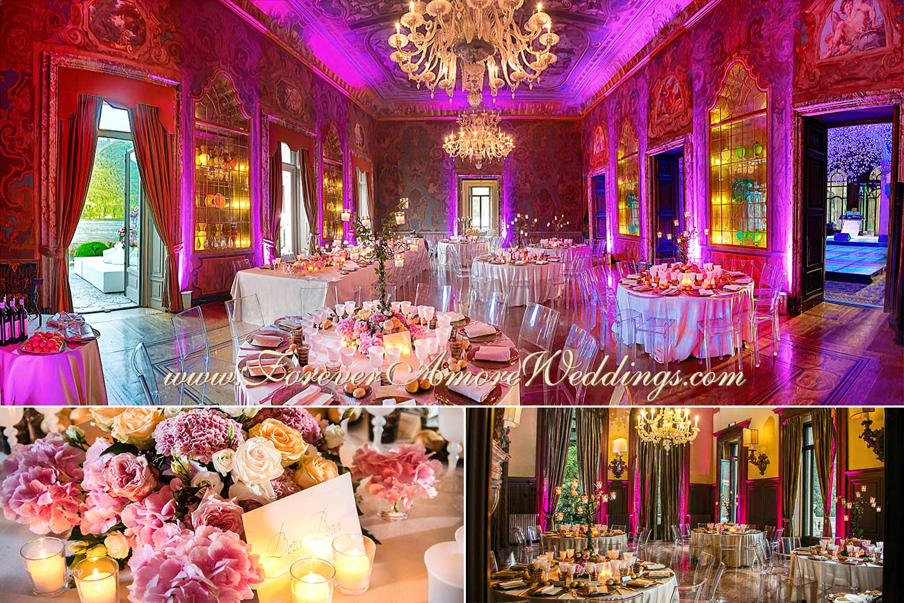 Your wedding planner in lake como italy for Luxury destination weddings
