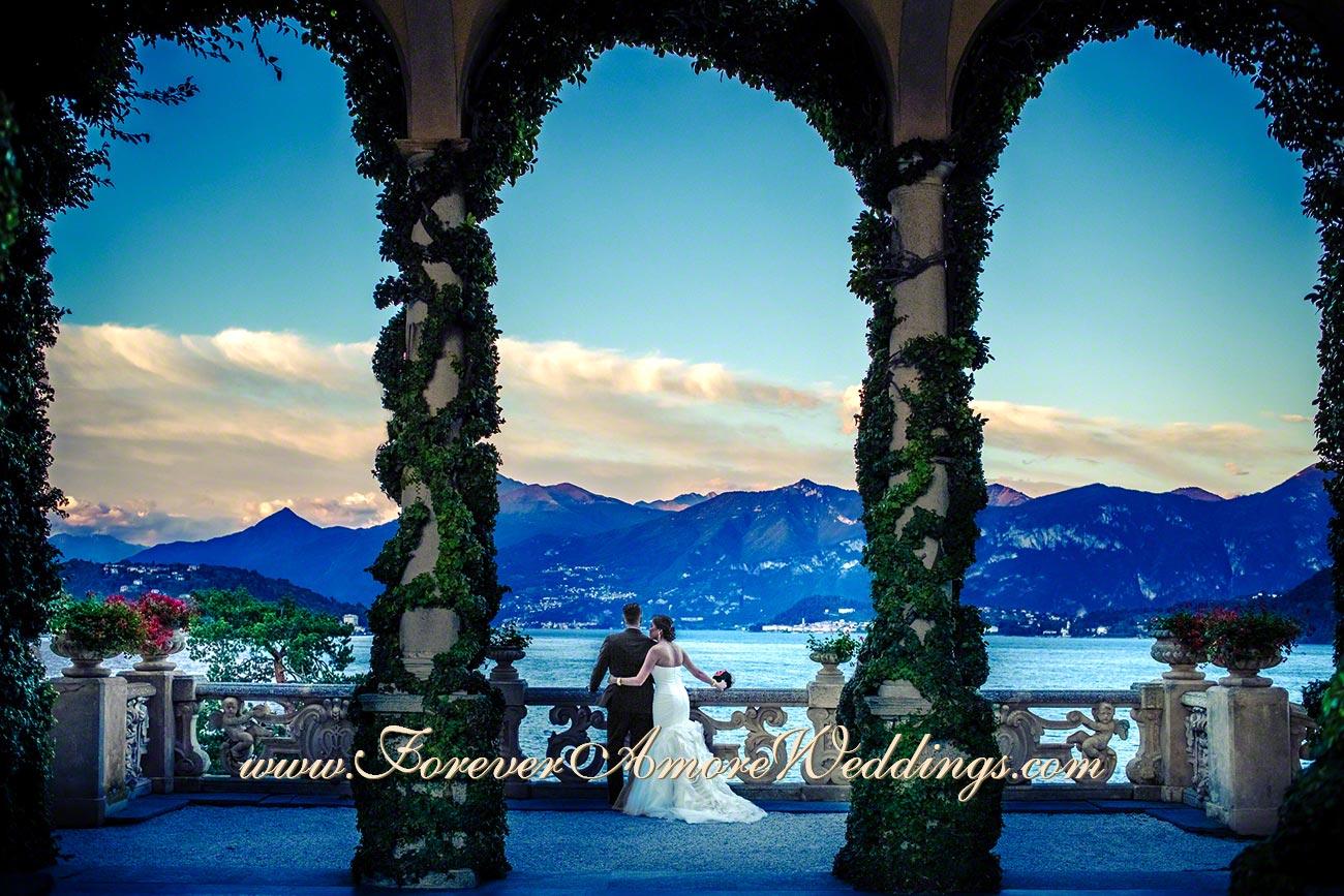 Wedding Reception At Villa Balbianello