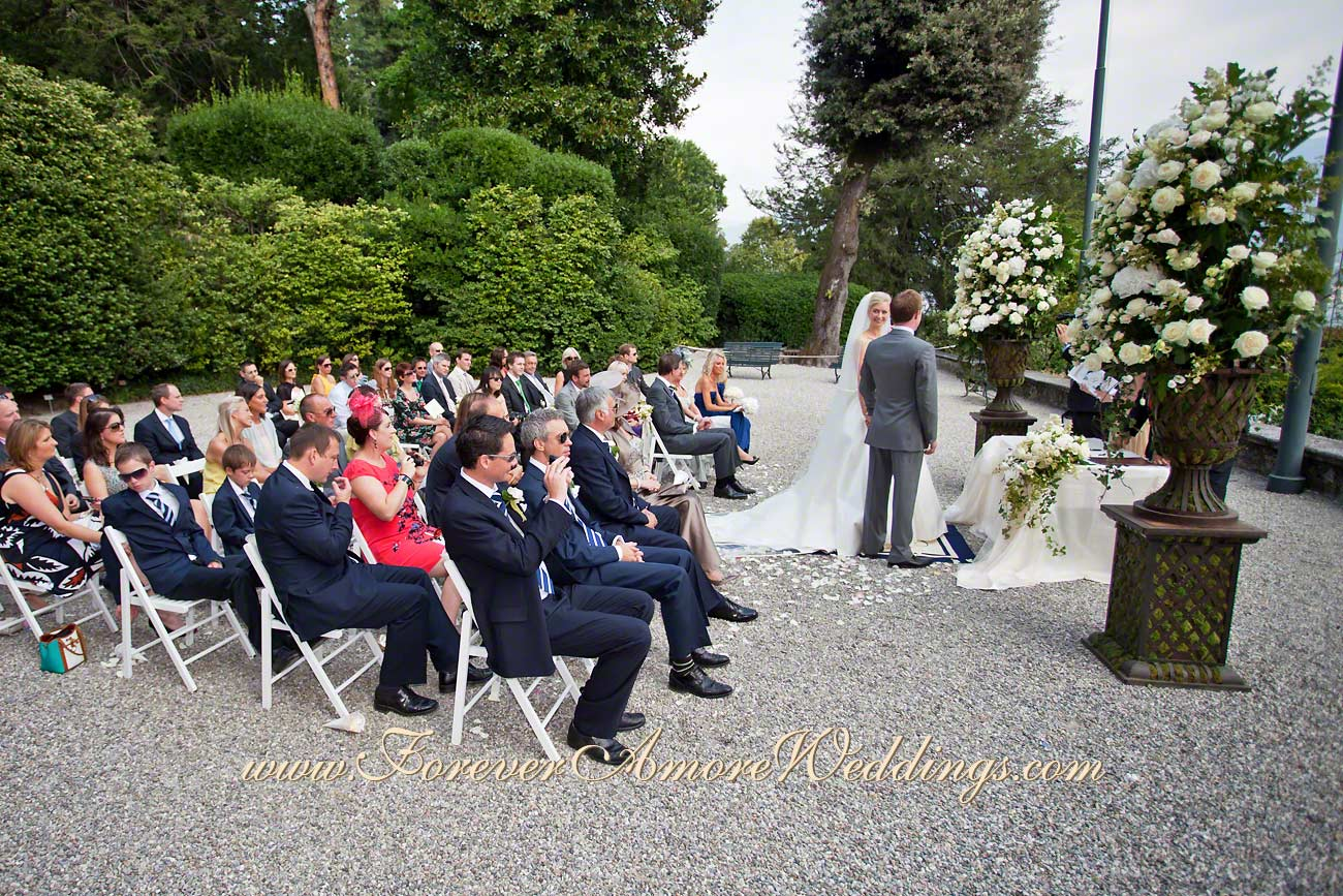 Villa carlotta como wedding