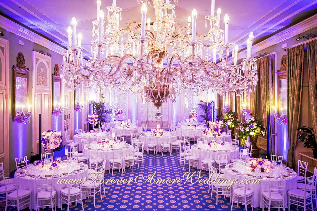 deluxe wedding reception at Villa D'Este