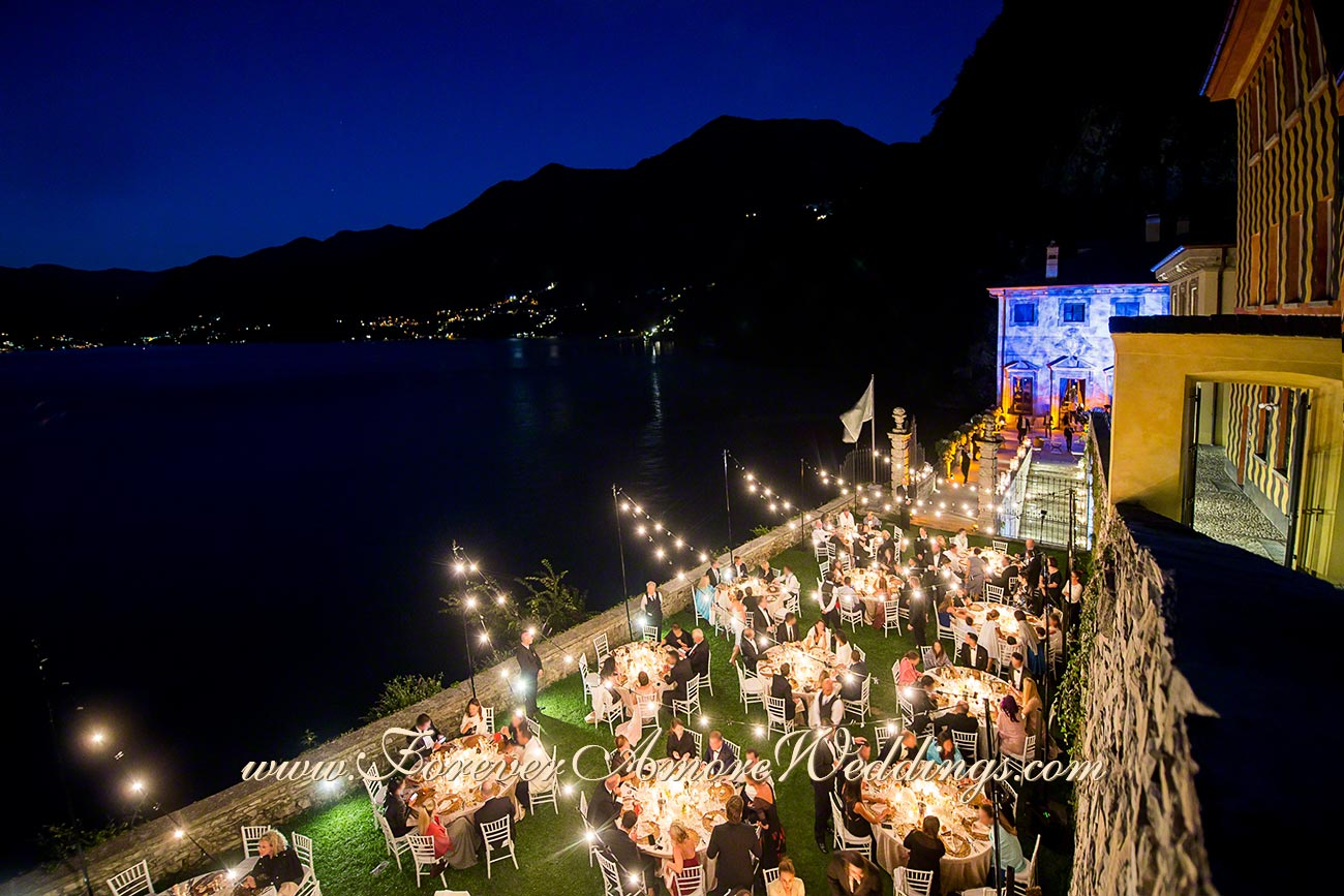 getting married in Italy at lake Como
